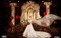 MeYouMe-宫廷复古玫瑰红主题婚礼