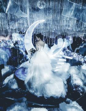 《星月幻境》--蒂琦娜简约星空婚礼定制
