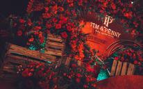 【惊鸿二字的如梦的时节】·复古红色中式