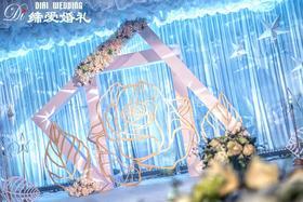 【缔爱婚礼】—— SUNNING·蓝色唯美