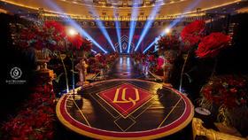 【柒月婚礼】红黑金的现代时尚感