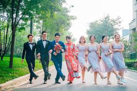 时尚婚礼跟拍——当记录幸福成为一种习惯,自己也会变得幸福