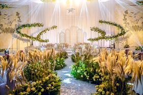 娄底天成婚礼作品 白色绿色公园风