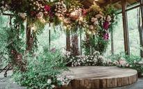 「艾溪婚礼」 雨后的花园·森系清新风