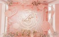 爱薇妮婚礼之寻找你-我的时光恋人·粉色浪漫婚礼布置