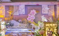 新中式婚礼/ 清新优雅婚礼布置   余杭临平婚礼策划