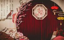 「艾溪婚礼」书鸿笺,红叶盟·中式创意