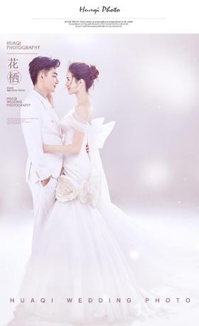 《梦幻》个人定制系列 杂志风婚纱照 蕊蕊夫妇