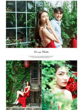 《午后阳光》街拍森系婚纱摄影系列 情侣 青春阳光 胡同婚纱照