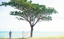 【南昌波西米亚婚纱摄影 — 流动的天使之城·唯美海滩浪漫风
