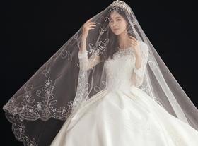 【大视觉摄影】黑白配——韩式内景婚纱照
