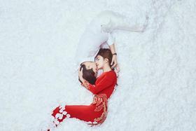 桔子摄影婚纱样片欣赏【高定 繆丝系列】·韩式复古婚纱照