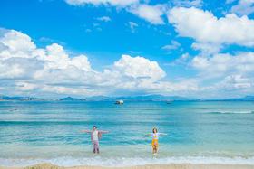 【三亚克莉丝汀】全球旅拍2月真实客片·海滩文艺婚纱照