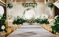 金色婚庆——白绿色小清新森系《密语》