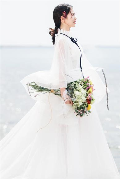 酒店泳池·室内·海滩婚纱照