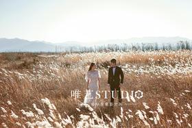 【唯艺12月顾客】风车岛·唯美芦苇黑白婚纱照