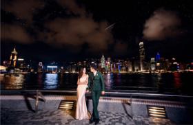 厦门如果爱婚纱摄影客照欣赏·时尚夜景