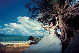 【六月记忆高端摄影】·海景婚纱照