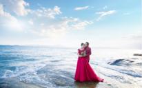 厦门海滩如果爱婚纱摄影客照欣赏
