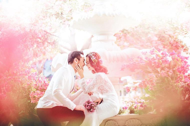 青岛名爵婚纱摄影·冰雪·花海