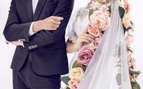 青岛名爵婚纱摄影·纯白清新婚纱照