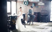 青岛名爵婚纱摄影·韩式现代婚纱照