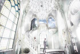 青岛名爵婚纱摄影·浪漫古堡风