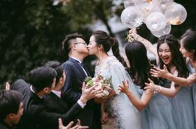 浪漫鱼尾婚纱+爱你是一时的心动,也是一世的行动