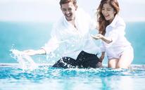 【六月记忆高端摄影】海景婚纱照