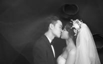 厦门如果爱婚纱摄影客照欣赏黑白婚纱照
