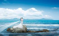【六月记忆高端摄影】海边唯美婚纱照