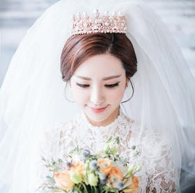 米兰coco——韩式宫殿婚纱照