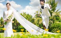【六月记忆高端摄影】韩式公园婚纱照