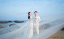 厦门如果爱丨纪实沙滩婚纱照