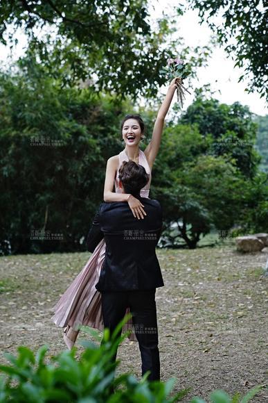【薇拉】浪漫唯美丨森系森林婚纱照