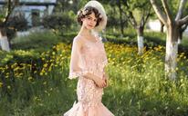 SaintDenis2018新品莫奈花园 婚纱礼服