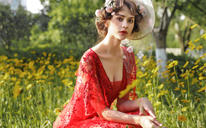 SaintDenis2018新品莫奈花园——时尚新娘礼服