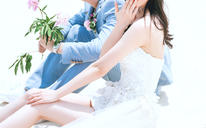 大画印象丨遇见了你——日系海景婚纱照