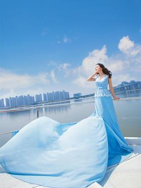 【婚照】英伦江景婚纱照