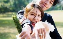 【薇拉】蒹葭之爱丨森系草坪婚纱照