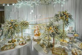 【逆光婚礼】——「香槟色大气婚礼」恋