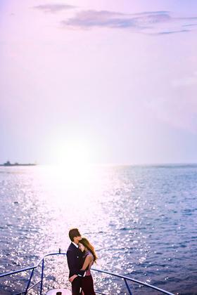 【六月记忆高端摄影】韩式海景婚纱照