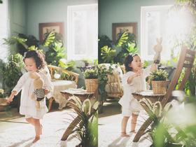 韩国童感 《NlMO的森林》系列  韩式内景婚纱照