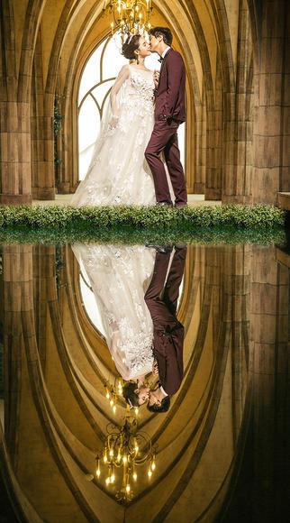米兰coco--唯美宫殿婚纱照