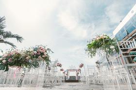 【IDOI婚礼策划】粉蓝清新室外婚礼