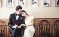 【蓝V·西安】(钟爱一生-婚纱)韩式宫殿婚纱照