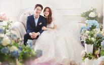 【枫禾映画】如你这般纯粹美好唯美室内婚纱照