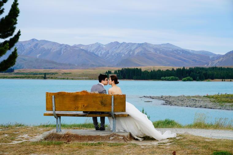 文艺江景婚纱照(纽约纽约新西兰旅拍)