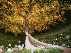 罗亚婚纱摄影【全新·一千零一夜】复古夜景婚纱照