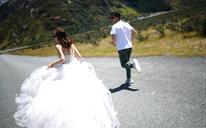 (纽约纽约新西兰旅拍)文艺海景婚纱照